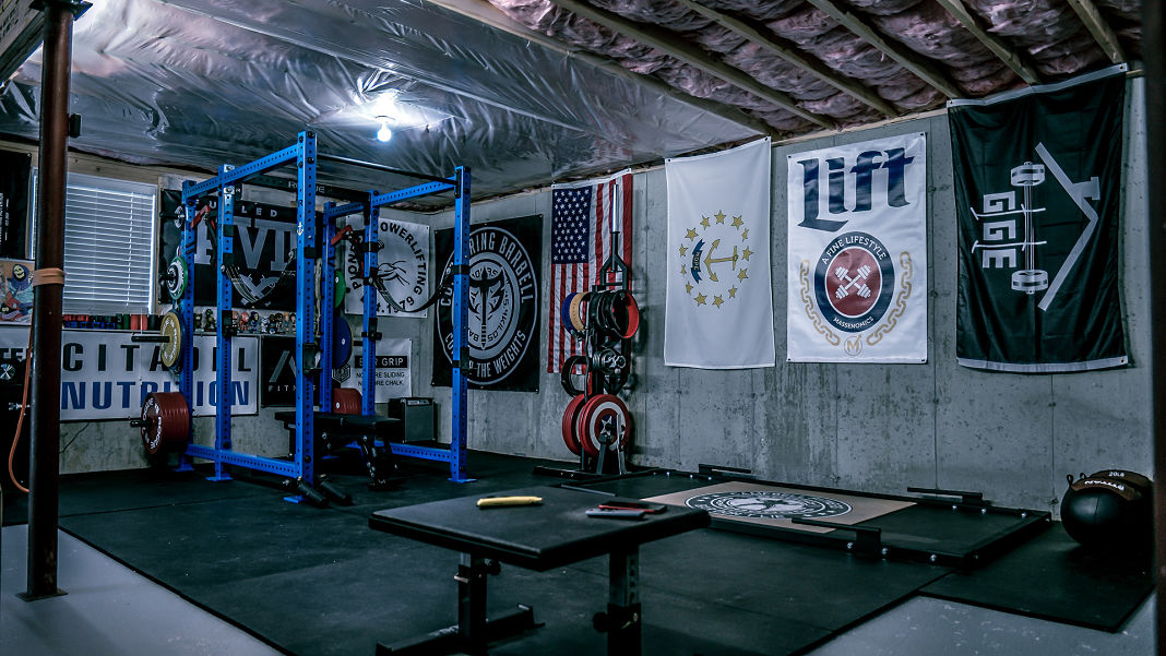 Step into brandon campbell s badass home gym garage gym lab
