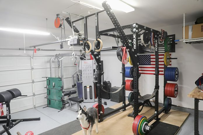 Liam Connolly Garage Gym 2