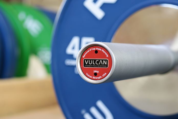 Vulcan Absolute Power Bar End Cap 2 Garage Gym Lab