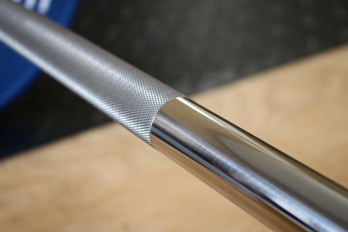 Vulcan Stainless Steel Power Bar Shaft Garage Gym Lab
