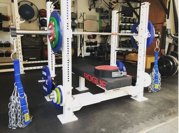 White Box Bench Powerlifting Garage gym Lab