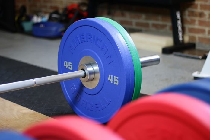 American Barbell Urethane Angle 5 Garage Gym Lab