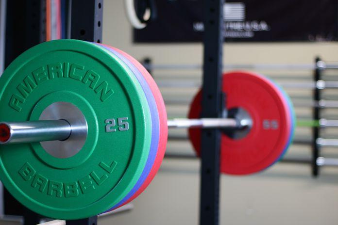 American Barbell Urethane Loaded Angle Garage Gym Lab
