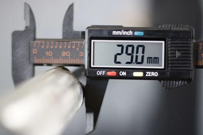 Kabuki Strength Power Bar - Shaft Diameter Garage Gym lab
