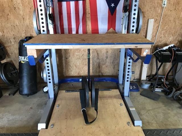DIY Reverse Hyper Machine - Garage Gym Lab