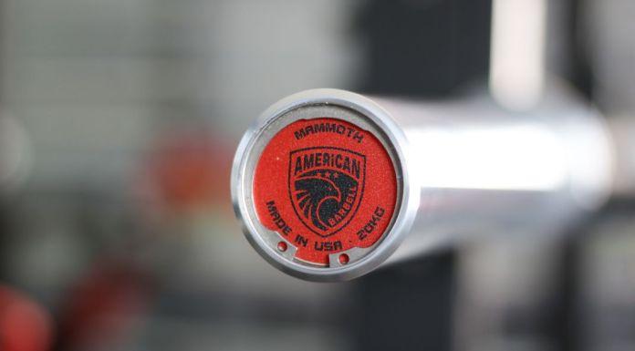 American Barbell Mammoth Bar - End Cap Garage Gym Lab