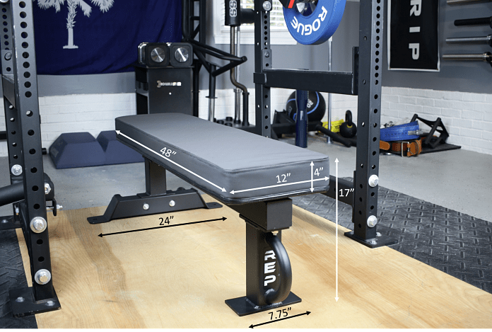 Rep Fitness FB-5000 Dimensions Garage Gym Lab