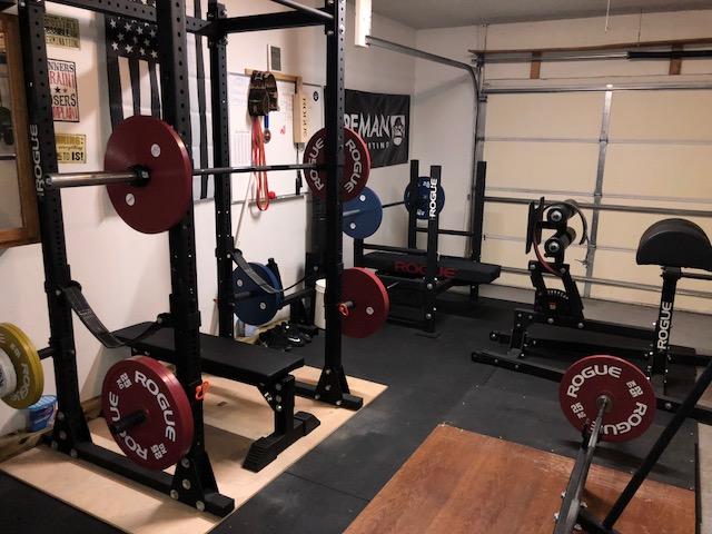 SWAT Officer's Powerlifting Garage Gym 6 Garage Gym Lab