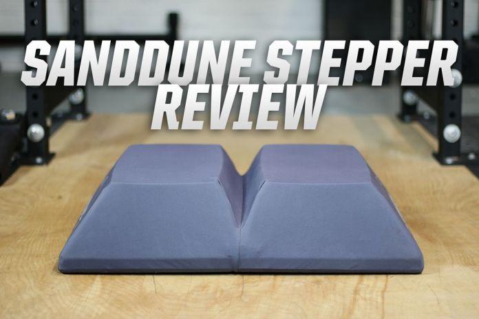 Sanddune Stepper Cover Image Garage Gym Lab