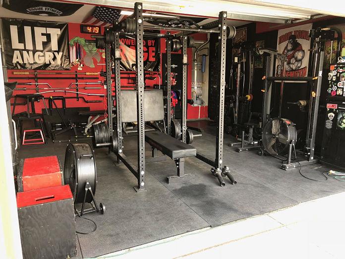 Castro Pain Cave 2 Garage Gym Lab