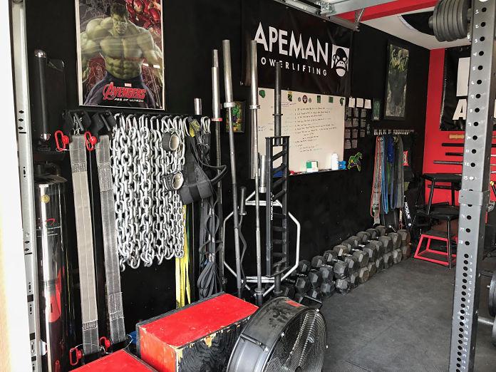 Castro Pain Cave 3 Garage Gym Lab
