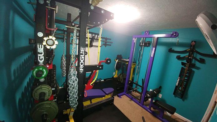 Jim & Holly Badass Home Gym Garage Gym Lab 1