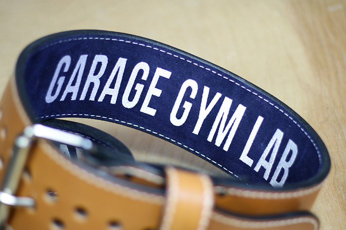 Pioneer Belts Suede Garage Gym Lab