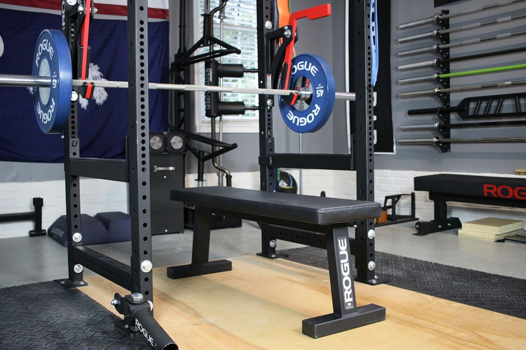 Rogue fitness flat utility bench review garage gym lab