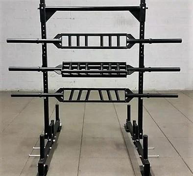 Swiss Bar - Edge Fitness - Garage Gym Lab