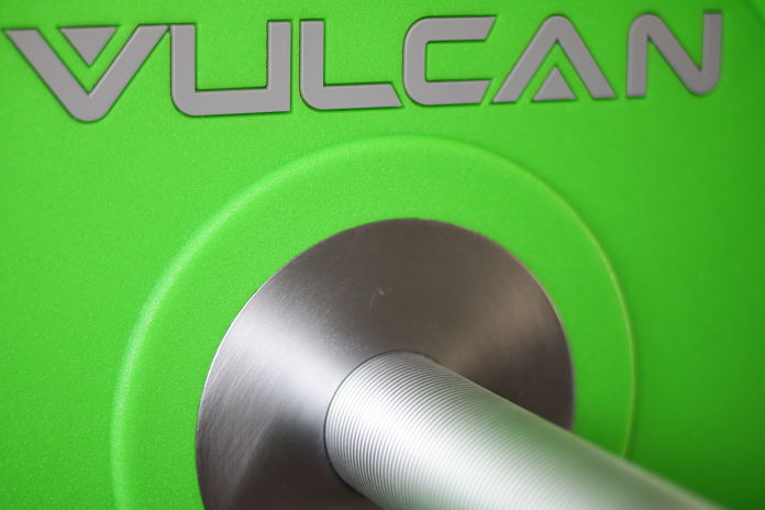Vulcan Bumpers Plates Urethane Hole Sizing - Garage Gym Lab