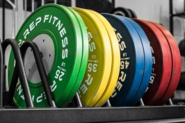 Rep Fitness Competition Plates - Garage Gym Lab
