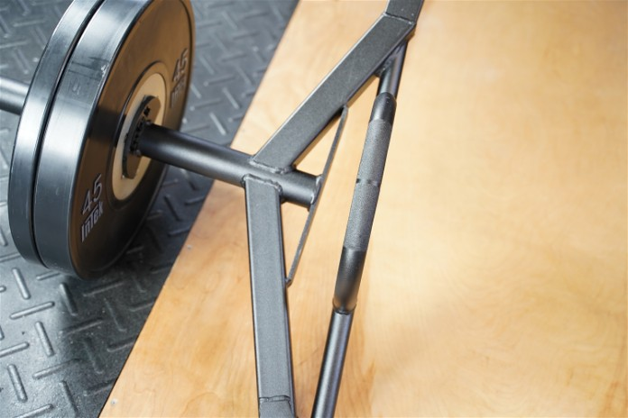 Intek ModF Bar - Handle Angle - Garage Gym Lab