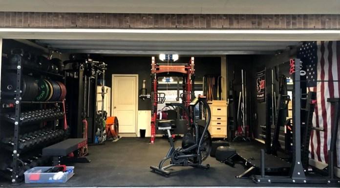 Matt & Michelle's Incredible Garage Gym 1 - Garage Gym Lab