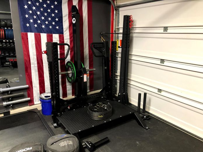 Matt & Michelle's Incredible Garage Gym 8 - Garage Gym Lab