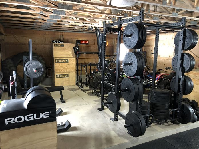 Brian's Barn Gym Rack - Garage Gym Lab