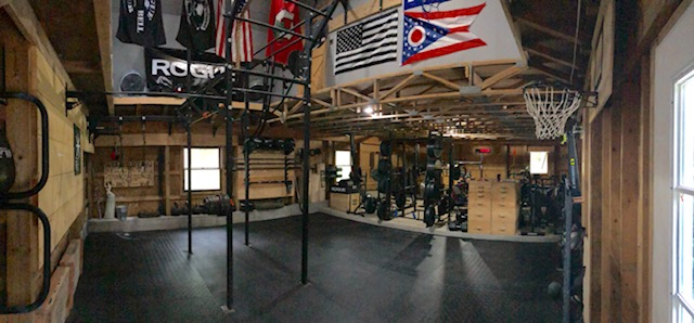 Setting up a crossfit garage gym may be easier than you think