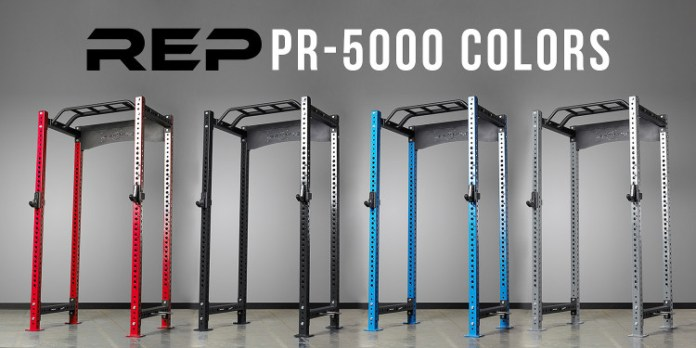 Rep Fitness PR-5000 Colors - Garage Gym Lab