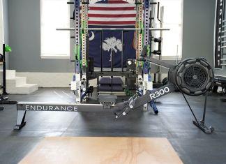 Body Solid R300 Rower - Cover - Garage Gym Lab