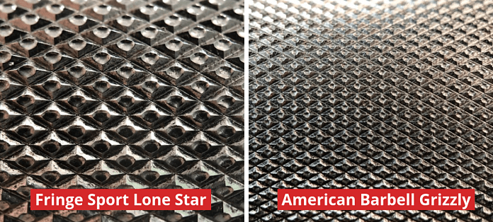 Fringe Sport Lone Star Power Bar - Comparison - Garage Gym Lab