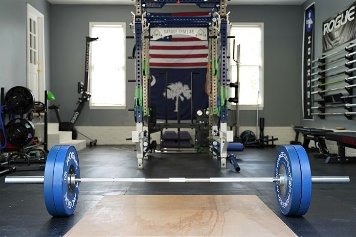 Fringe Sport Lone Star Power Bar - Loaded - Garage Gym Lab