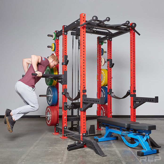 Rep Fitness PR-4000 Rack Release - Garage Gym Lab