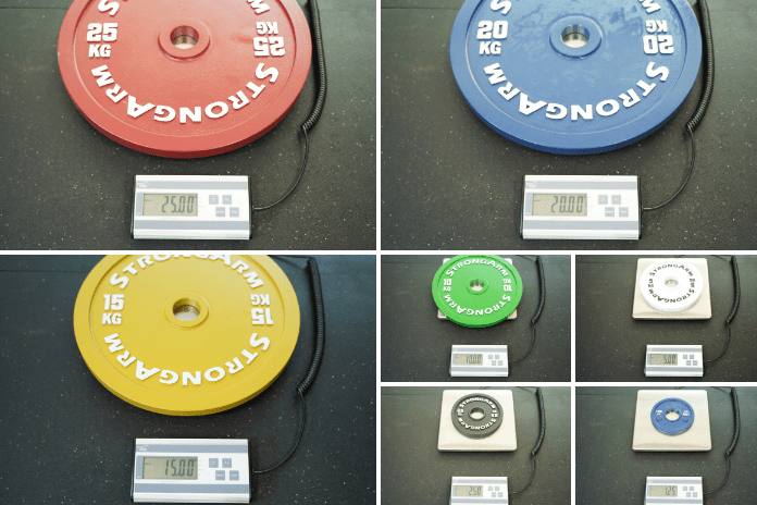 StrongArm Sport Calibrated Plate - Weight - Garage Gym Lab