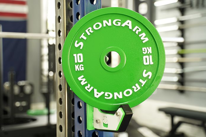 StrongArm Sport Calibrated Plate - 10 KG - Garage Gym Lab