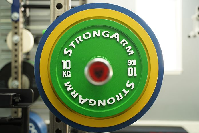 StrongArm Sport Calibrated Plate - 10 KG Straight - Garage Gym Lab