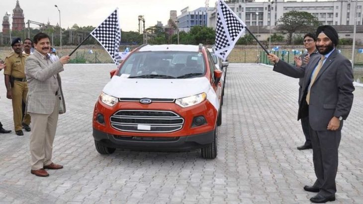 From the month of October of this year, then, Ford already foresees closed doors for its two factories in India