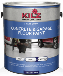 Kilz One Part Garage Floor Paint Epoxy Best Paint For