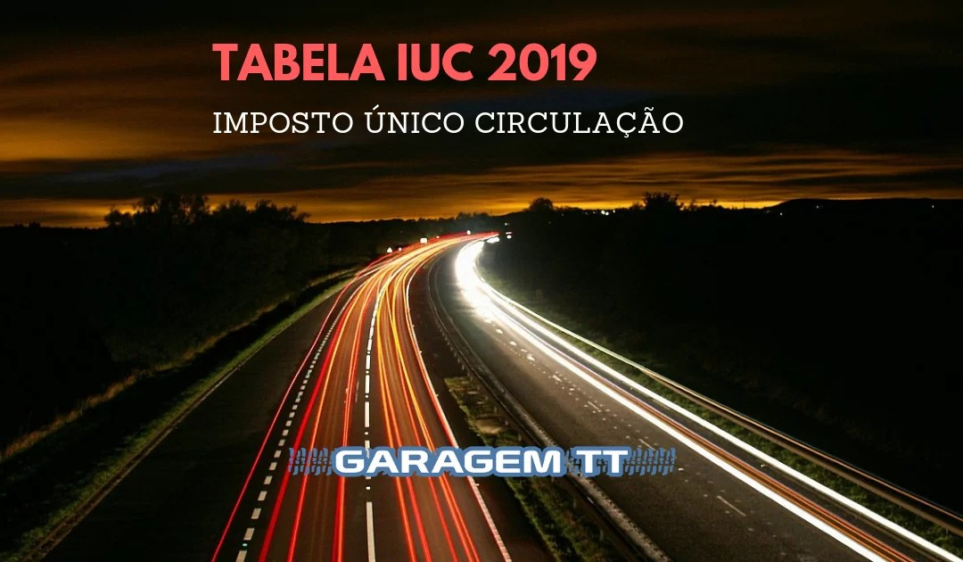 Tabela IUC 2019