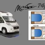 Autocaravana McLouis 7