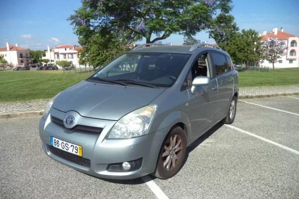 Usado Toyota Corolla Verso 2-2 D4D 2008 1