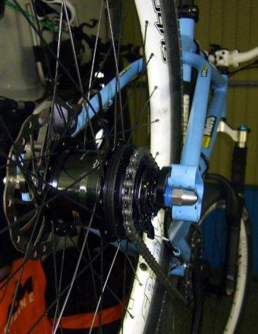 Shimano Alfine 11-Gang Laufrad mit 2Souls Cycles Evo Ausfallenden