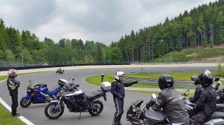 Motorrad Fahrsicherheitstraining Salzburgring Instruktion Nocksteinkehre