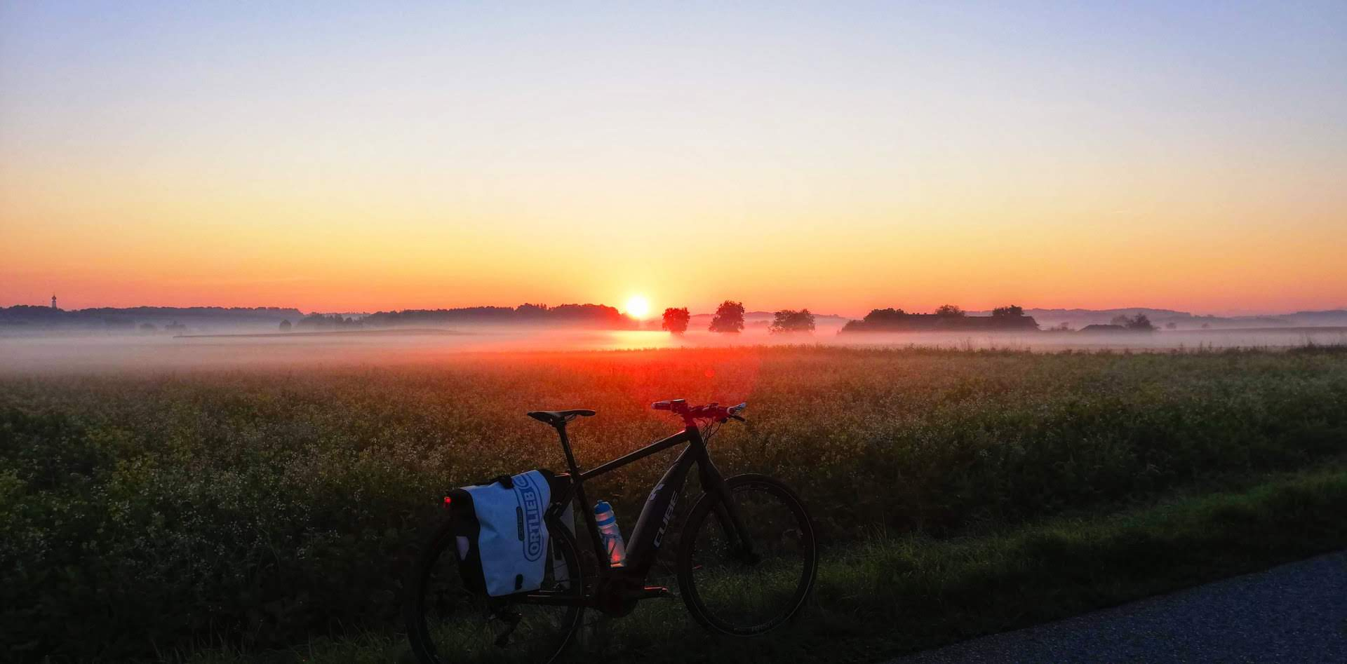 Morgendliche Bürofahrt