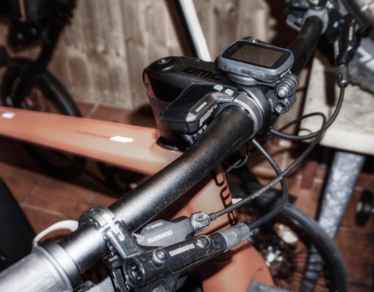 BMC ICS GoPro Faceplate - Garmin Edge Halterung