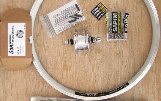Tern Verge X10 Vorderrad für Toureneinsatz