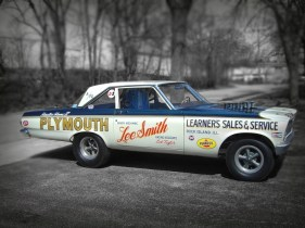 This rare piece of drag racing history looks just like it did in 1965. pre planning and reserch are the key.