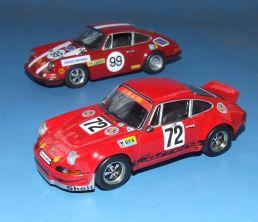 Porsche von Georg Loos: 911 Nürburgring 1969 und Carrera RSR 2.8 Le Mans 1974
