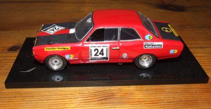Opel Commodore erstellt von Irmscher, 24 Stunden Nürburgring 1971