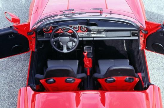 Porsche 911 Carrera 2 3,6 Speedster, Modelljahr 1993