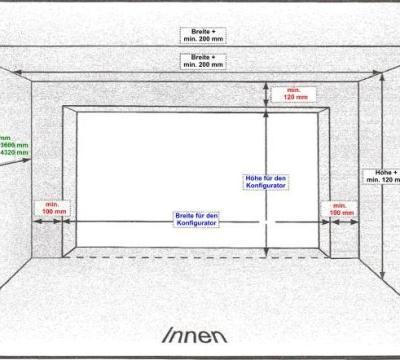 ma e garagentor haus design. Black Bedroom Furniture Sets. Home Design Ideas