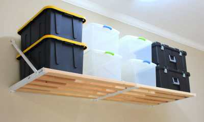 garage shelving system